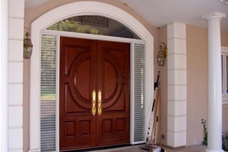 Exterior Door Painting