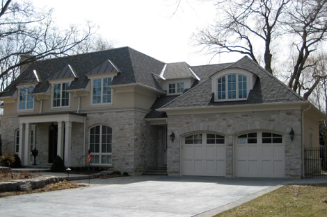 Exterior Home Painting Job Mississauga
